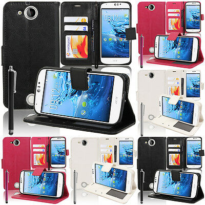 Protective Cover for Acer Liquid Jade Z S57 Phone Briefcase Flip Case