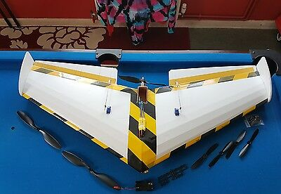 rc model flying wing/glider