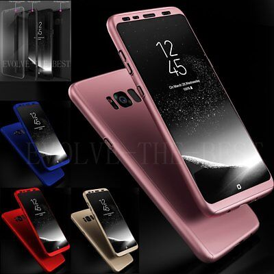 360 Degree Shockproof Full Body Hard Case Thin Cover For Samsung Galaxy S7 Edge