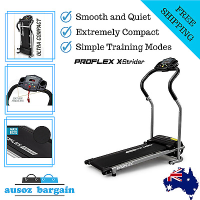 Gym Fitness Motorised Electric Treadmill Folding Walking Machine Home Exercise
