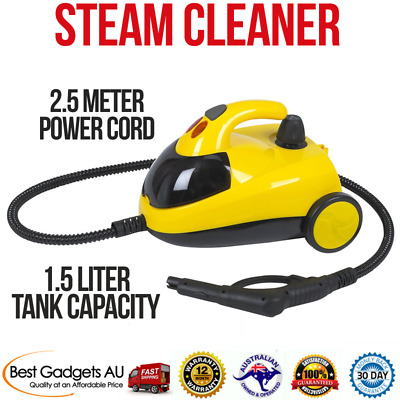 Steam Cleaner High Pressure Carpet Floor Home Car Upholstery 1500W 1.5L Compact