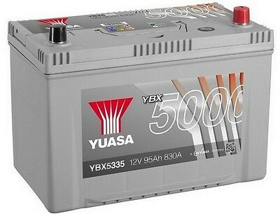 Type 335 Titanium Car Battery 12V 91Ah