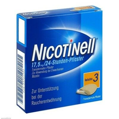 NICOTINELL 17,5 mg 24 Stunde 7St PZN 03764502