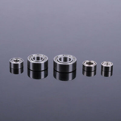ID 2/2.5/3/4/5mm Mini Carbon Steel Deep Groove Radial Baller Bearings DIY Model