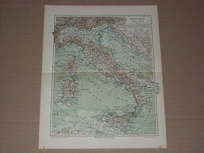 CUV15) Italien Holzstich ca  1900