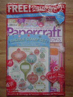 Papercraft inspirations Magazine Oct 2016 With Free Gifts RRP £5.99
