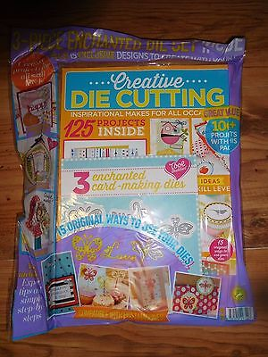 Creative Die Cutting Magazine With Free Die Gifts RRP £9.99