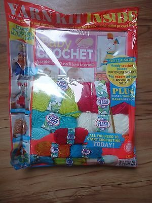 Baby Clothes & Toys Crochet Magazine With Wool & Free Gifts RRP £9.99