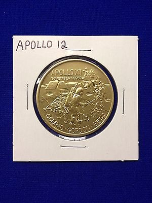 "Apollo 12 ""yankee Clipper"" Coin - ""conrad, Gordon, Bean"" - Nice Grade"
