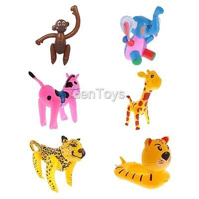 14-24in Inflatable Monkey Horse Jungle Zoo Animal Blow up Kids Novelty Toys