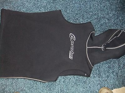 MENS PROBE NEOFLEECE HOOHED VEST SIZE XXL  scuba dive diving THERMAL