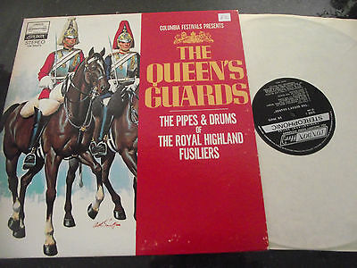 Mint- Pipes & Drums Of The Royal Highland Fusiliers The Queens Guards 1969 Lp