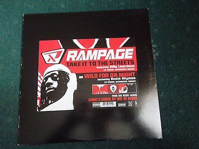 Rampage Wild For The Night/take It To The Streets 12Inch