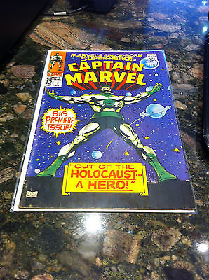 Captain Marvel #1 May 1968 Vg Out Of The Holocaust