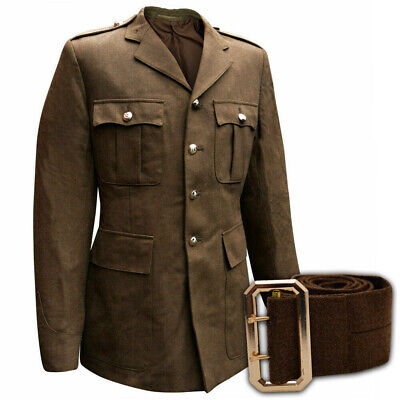 Genuine British Army No 2 Dress Uniform Jacket Tunic All Ranks Khaki Brown