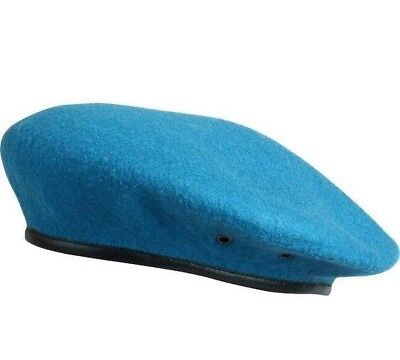 Original Russian Army VDV Airborne Blue Formed Classical Beret, SPLAV, Brand New