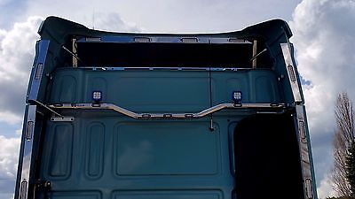 Daf Xf 105/106 Stainless Steel Rear/back Cab Light Bar