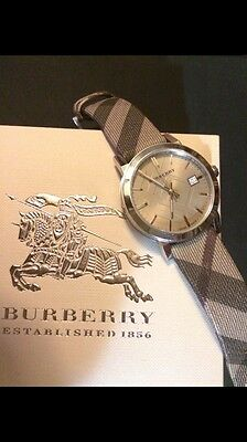 Authentic burberry watch men