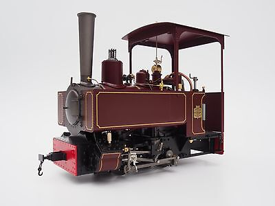 Accucraft B77-531 Decauville Type 1, maroon, 0-4-0T, Live-Steam, 7/8ths Scale