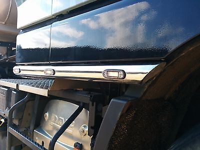 Stainless Steel Light Cab Side Bars Daf Xf 105