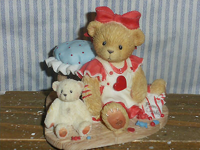 """NEW Cherish Teddy Candy """"You Are A Sweetie"""" 2001 Special Edition"""