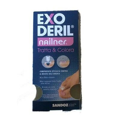 Sandoz Exoderil Nailner Smalto 2 In 1 5 ml Micosi Unghia
