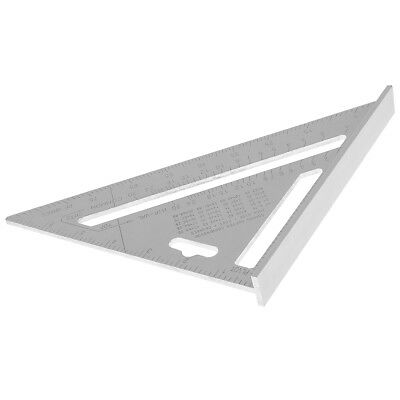"7"" Right Angle Triangle Aluminium Alloy Ruler Saw Guide for Industrial Woodwork"