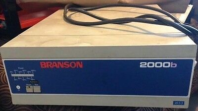 Branson Ultrasonic Power Supply. Model 2000b 20:3.3