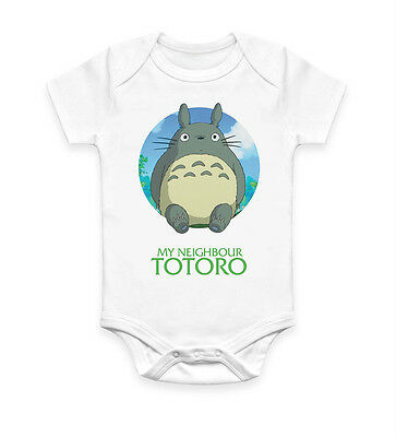 Funny My Neighbour Totoro Baby Grow Body suit Baby Suit Ideal Gift Unisex 2488