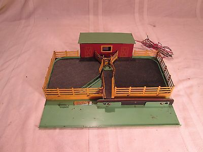 American Flyer 771 operating cattle stockyard, untested