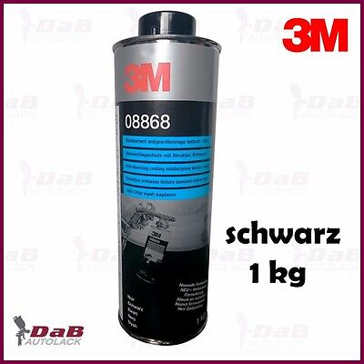 3M 08868 Chip protection with structure over paintable 1 kg - black