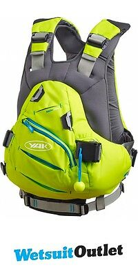2016 Yak Rakau Kayak 70N Whitewater Buoyancy Aid - Green 2704