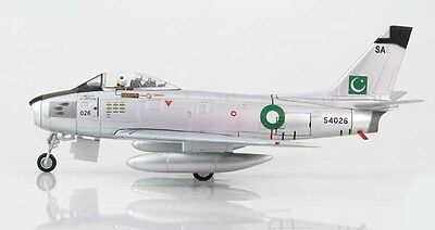 HA4311 F-86F-40 Sabre Pakistan Air Force Hobby Master 1:72 diecast model