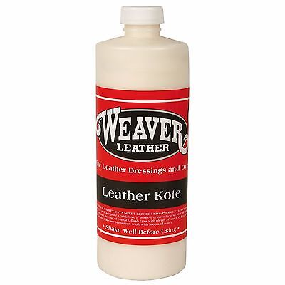 WEAVER LEATHER KOTE Reconditions All Types of Leather 32oz