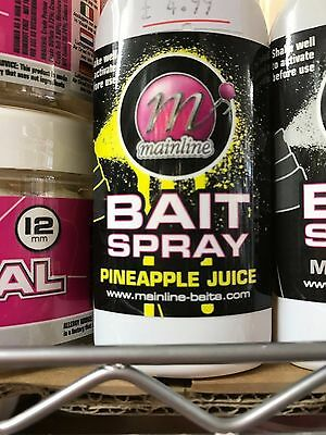 Mainline Baits 50Ml Bait Spray New For 2017 All Flavours Carp Fishing