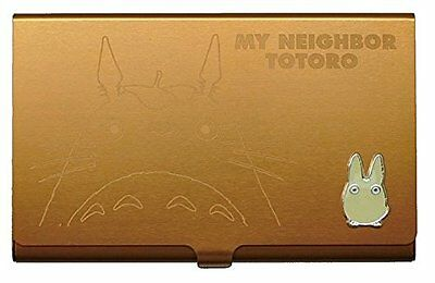 Studio Ghibli My Neighbor Totoro Brown Small Totoro metal card case