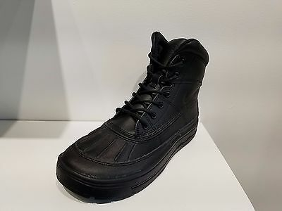 a74d20a17e0b81 NIKE BOY S WOODSIDE 2 High Snow Boots Black (524872 001) -  84.95 ...