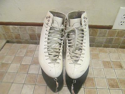 Klingbeil Custom Skates Leather Boots Wos 8.5-9 Wilson Ice/Figure/RollerSkates