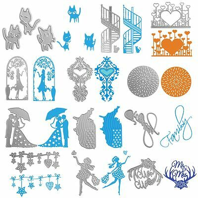 Album Decor Craft Scrapbooking Carbon Steel Embossing Stencil Cutting Dies