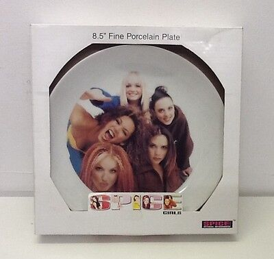 Spice Girls Porcelain Plate boxed , new unopened
