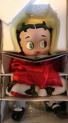 Baby Betty Boop Ho Ho Holiday Marie Osmond Porcelain Doll