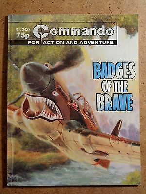 Commando No.3423 Badges Of The Brave 2001 War Action Picture Library Comic