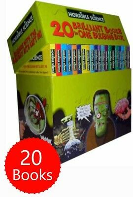 Horrible Science 20 Bulging Books Brand New Box Set Collection Histories