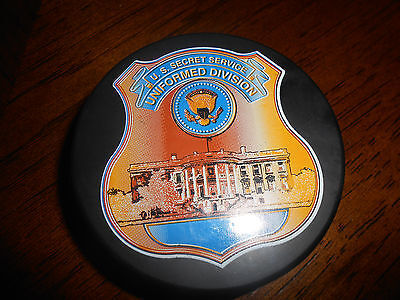 United States Secret Service USSS Uniformed Division Hockey Puck
