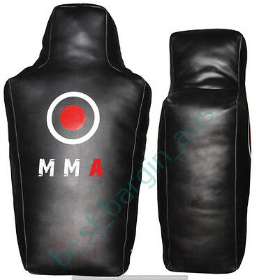 MMA Ground and Pound Floor Bag Grappling Dummy Training Equipment