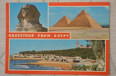 "CPM "" GREETINGS FROM EGYPT - Différentes vues"