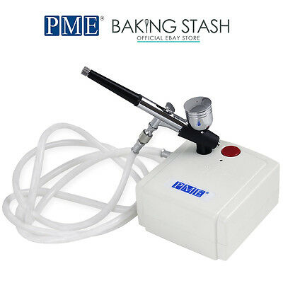 PME Airbrush Compressor Kit - For Cake Air Brushing and Decorating