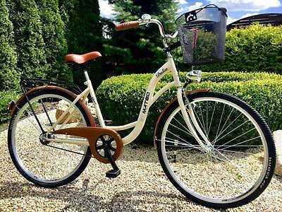 """28"""" City Town Hybrid Bike Dutch Style Women Cycle Cycling Amsterdam Fast Deliver"""