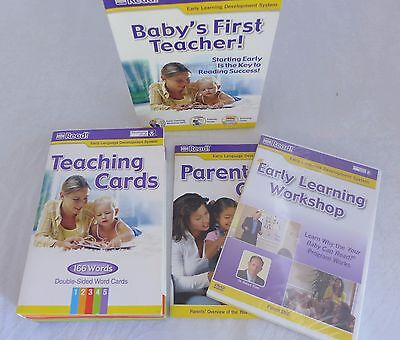 Your Baby Can Read Baby's First Teacher Early Learning Development System