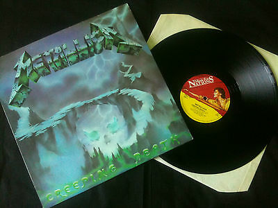 "Metallica - Creeping Death  12"" UK 1984  VG+/EX    Speed / Thrash Metal"